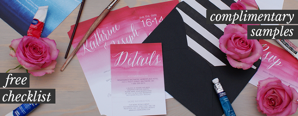 free wedding invitation samples from bohemian mint