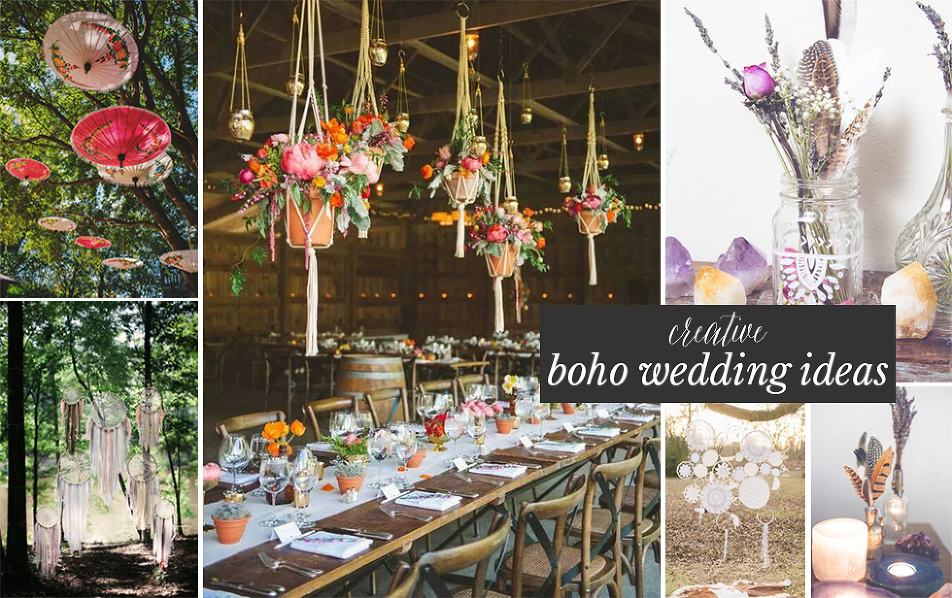 Currently loving 6 creative boho wedding ideas bohemian mint cretaive boho wedding ideas junglespirit Image collections